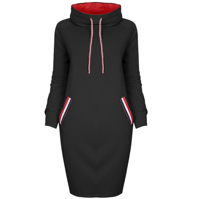 Autumn Winter Long Sleeve Casual Party Dress 2