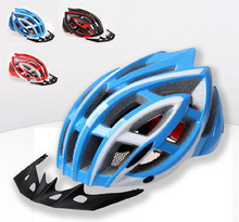 800 Top New Bike Helmets Men Solid Helmet Mountain Road Bicycle Helmets 2017 Safety Integrally Modeled Cycling Helmet