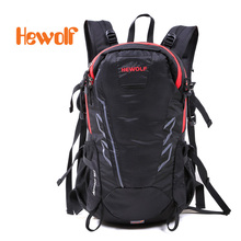 Hewolf waterproof outdoor mountaineering fishing Climbing Sports bag travel camping hiking canvas backpack for men and women 28L