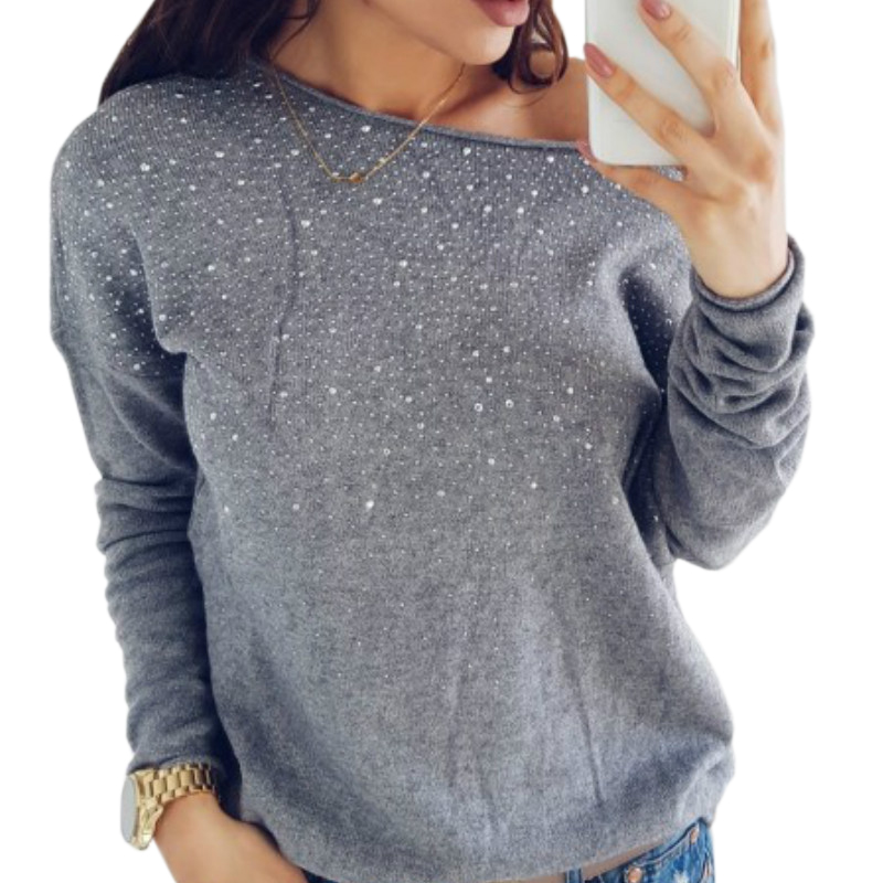 Winter Blouses Women Sexy Diamonds Print Blouse Clubwear Outfit Autumn  Pullovers Tops Femme Femininas Blusa Solid Shirts GV226