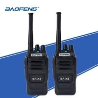 מכשיר הקשר 2pcs Baofeng K5 Ham Radio מכשיר הקשר 400-470MHz UHF משדר 1500mAh 2 Way רדיו חובב Handy Interphone עבור אבטחה (1)