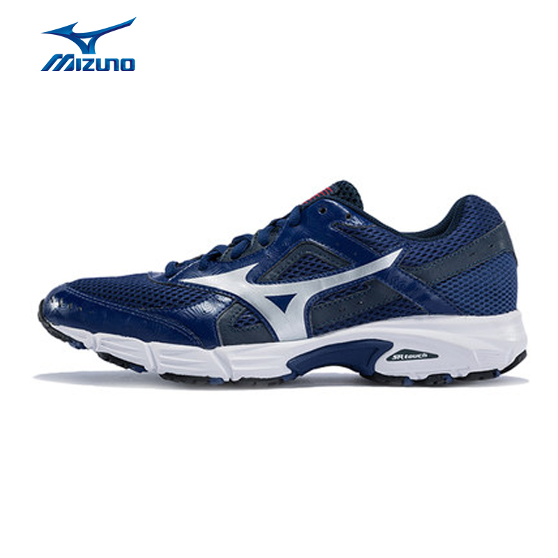 MIZUNO Men EMPOWER 3 Mesh Breathable Light Weight Sneakers Sport Shoes Cushioning Jogging Running Shoes K1GR160900 XYP646 mizuno men s sports beathable cushioning soccer shoes monarcida fs as light sport shoes sneakers p1gd152301 yxz003