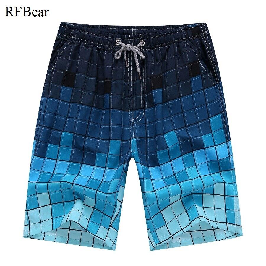 Rfbear бренд Для Мужчин's Пляжные шорты для будущих мам Пляжные шорты 2018 новые летние модный принт Рубашки домашние высокое качество активного износа