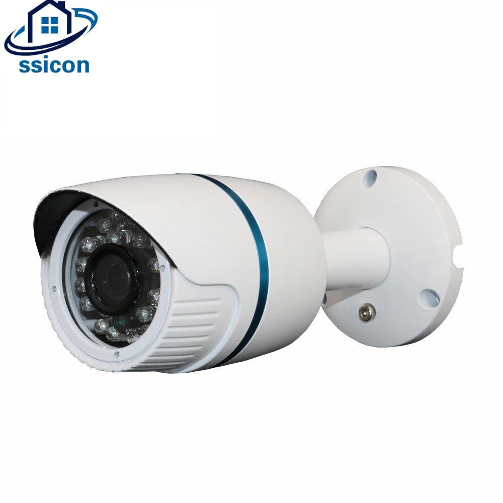 SSICON Waterproof Bullet Security Surveillance CCTV H.265 4.0MP IP Camera Outdoor Xmeye APP wistino cctv bullet ip camera xmeye outdoor waterproof 720p 960p 1080p night visionhome surverillance security video monitor