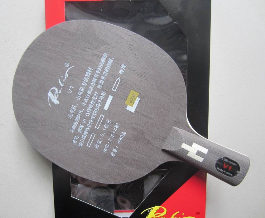 Original Palio V1 (V 1, V-1) Table Tennis Blade 7wood+4carbon Table Tennis Racket For Fast Attack With Loop