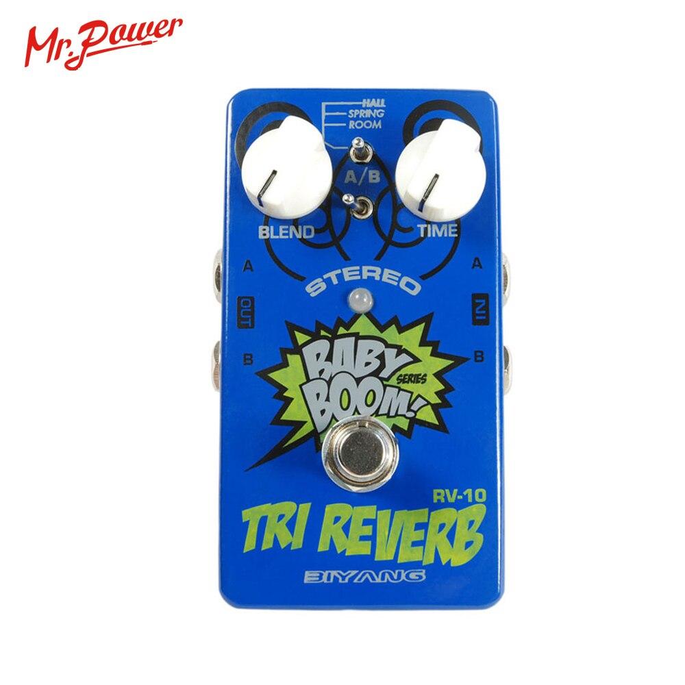 Efectos de baby boom Biyang RV-10 Modo 3 Tri reverberación Reverb - Instrumentos musicales - foto 5