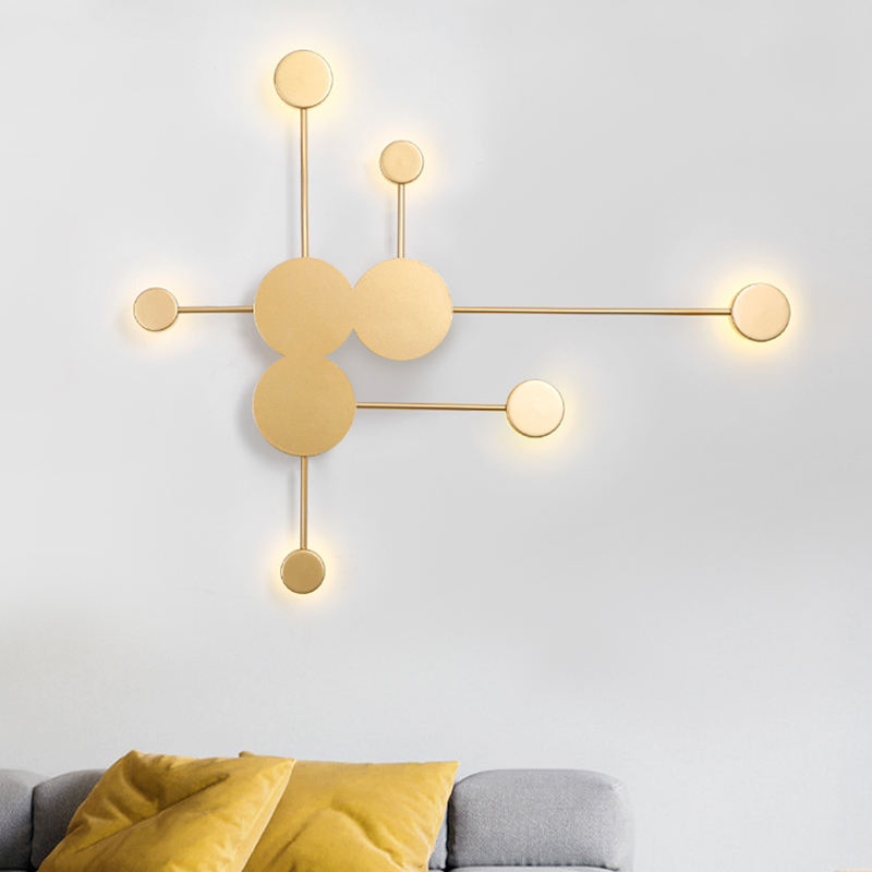 Gold White Black modern Led Chandelier lighting for bedroom living room lustre luminaria lampadario Ceiling Chandelier