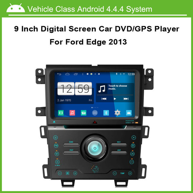 Android Car Dvd Player For Ford Edge  Gps Navigation Multi Touch Capacitive Screen