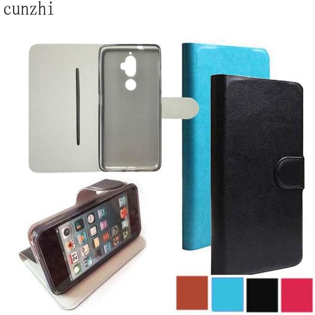 premium selection 71961 0c43e US $5.4 |cunzhi FOR Lenovo K8 Plus Case, Soft Shell Inner + PU Leather Flip  Cover Case for Lenovo K8Plus-in Flip Cases from Cellphones & ...