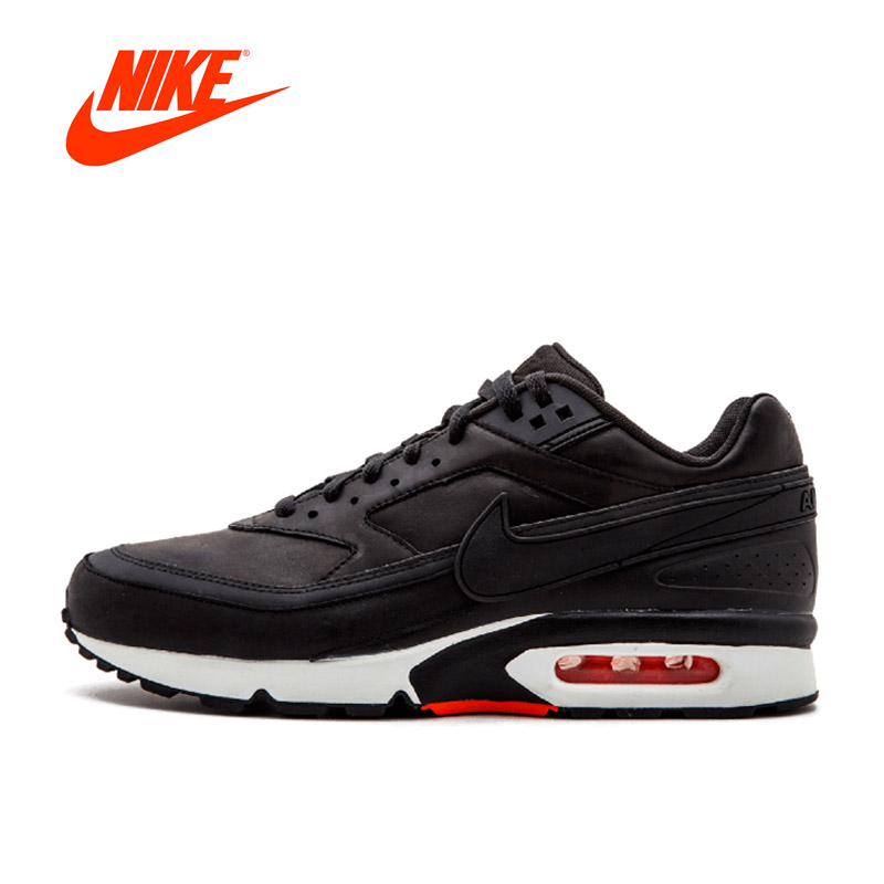 Original New Arrival Authentic Nike Air Max BW Premium Mens Breathable Running Shoes Sports Sneakers Comfortable Breathable