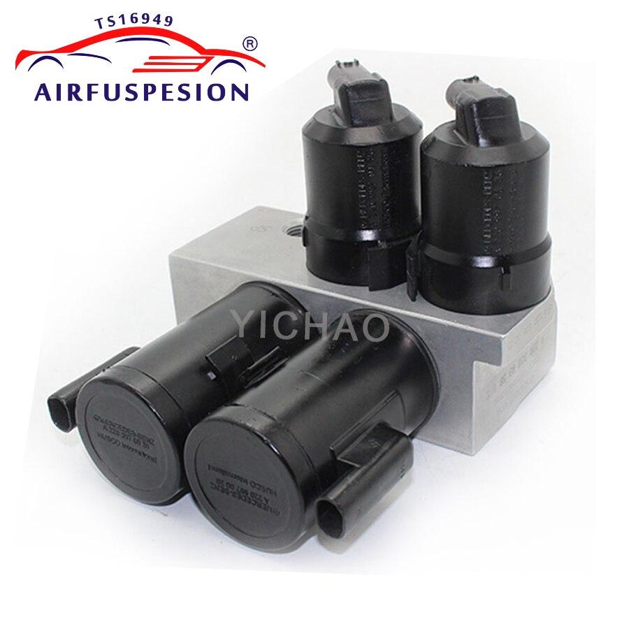 Гидравлический блок клапана ABC для Mercedes W220 W215 CL500 CL55 CL600 S500 S600 2203280031 2203200358blocksblock blockblock valve  АлиЭкспресс