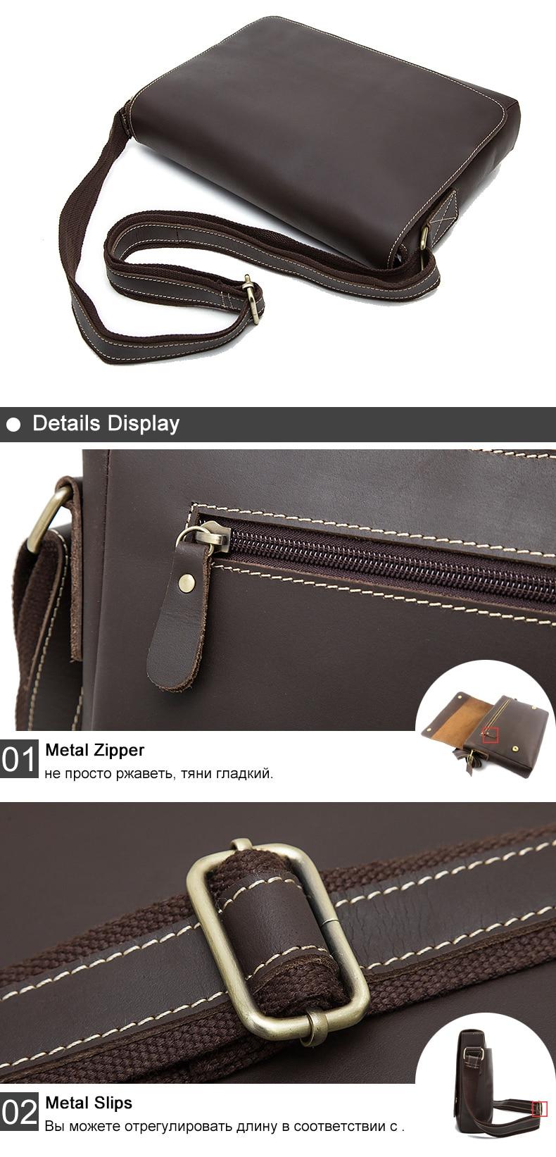 HTB1ybybR4YaK1RjSZFnq6y80pXab WESTAL Men's Briefcases Laptop Bag Leather Lawyer/office Bags Messenger Bags Men's Crazy Horse Leather Briefcases Business Bag