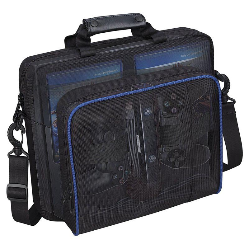 4 Accessories PS4 Bag Travel Storage Carry Case Controller Waterproof Protective Bag For Sony Playstation цены онлайн