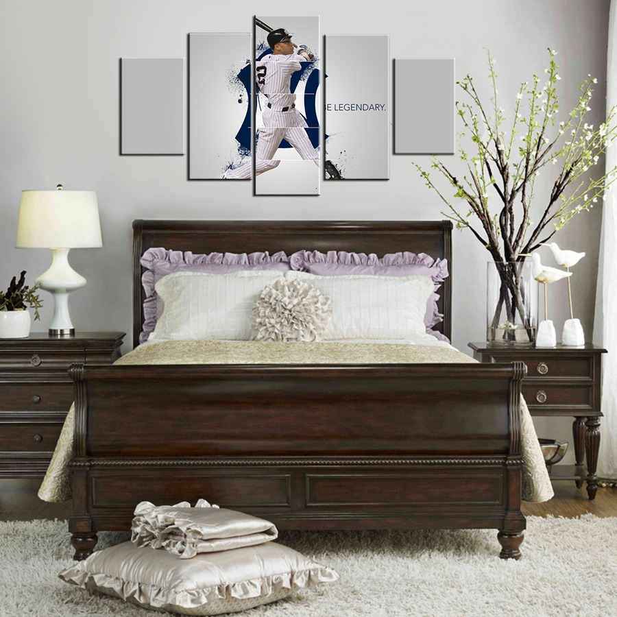 New York Yankees Bedroom Decor Compare Prices On Baseball Wall Art Online Shopping Buy Low Price