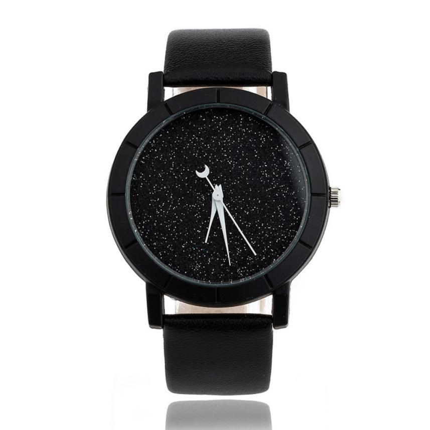 Fasion Men Women Watch Business Design Dial Leather Band Analog Quartz Wrist Watch High Quality Watches Dropshipping Clock #T