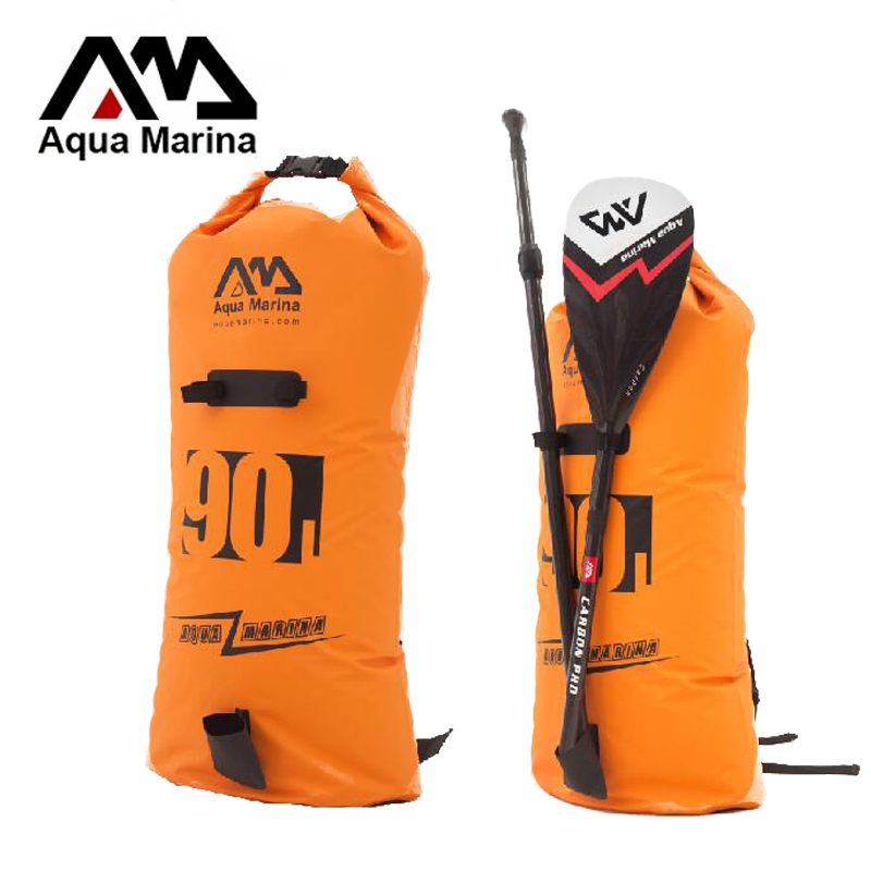 35 120cm 90L water proof backpack bag laminated PVC for Aqua Marina all size stand up