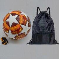 League Soccer Ball Red Madrid 19 Final Balls PU high grade seamless paste skin football ball Size 5 Futbol bola