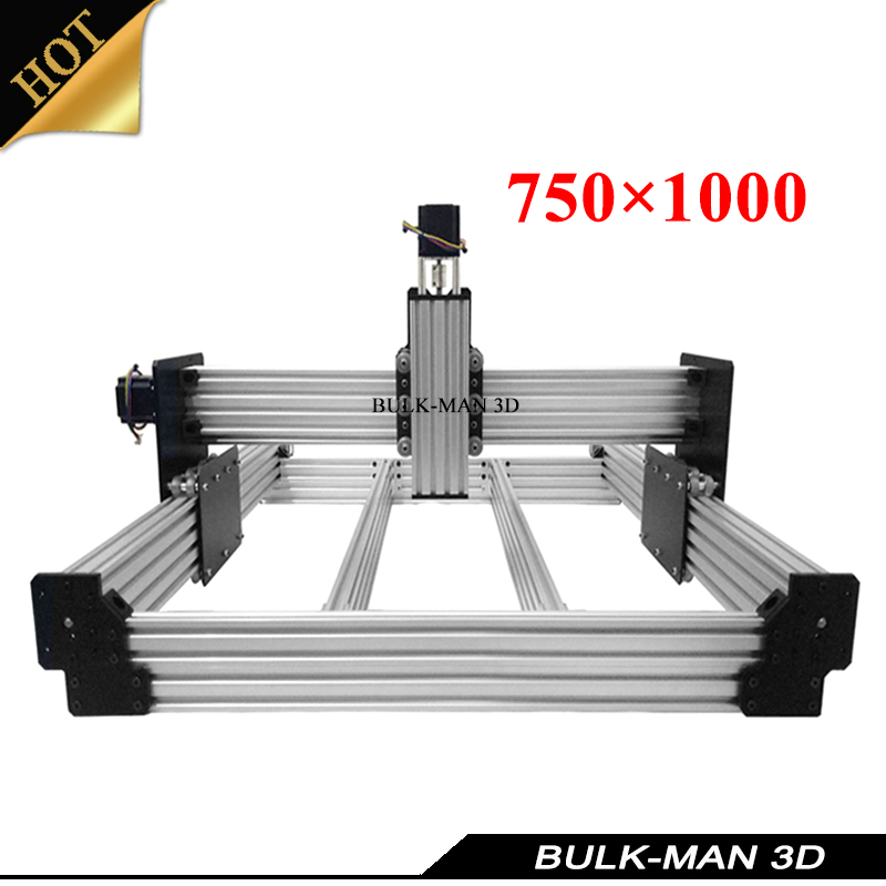 OX Upgrade Version WorkBee CNC Mechanical Kit for DIY CNC Engraving Machine,Milling Machine,Wooding Router 750*1000mm aluminum lathe body cnc 6040 router 1605 ball screw cnc frame kit diy cnc engraving machine