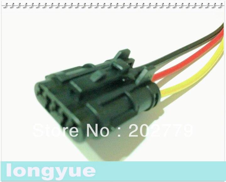 longyue 20pcs universal 3 pin female ket pigtail connector. Black Bedroom Furniture Sets. Home Design Ideas