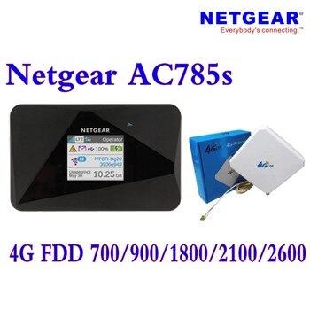 Unlocked Netgear AirCard 785S (Plus 4g 35dbi antenna)LTE Mobile Hotspot Dual band Wi-Fi 4G FDD 700/900/1800/2100/2600MHZ