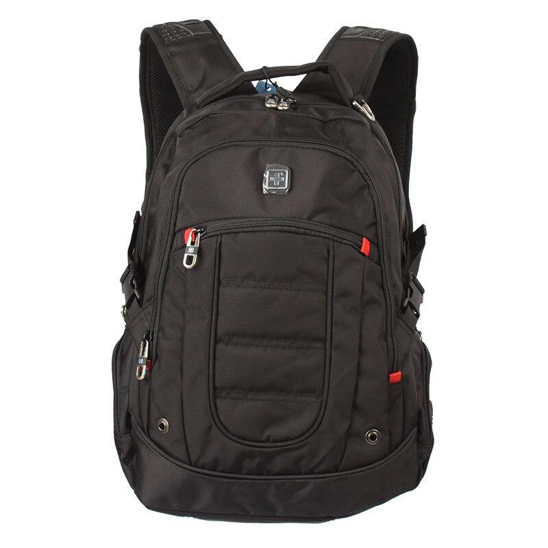 17 17 3 inch black laptop backpack Men School backpacks studetns bag travel bag Laptop computer