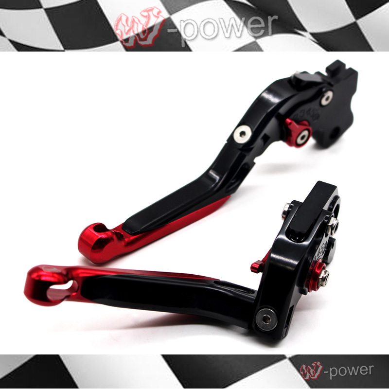 For DUCATI MONSTER 659 696 796 Motorcycle Accessories CNC Billet Aluminum Folding Extendable Brake Clutch Levers for ducati multistrada 1200 dvt 2015 motorcycle accessories cnc billet aluminum folding extendable brake clutch levers