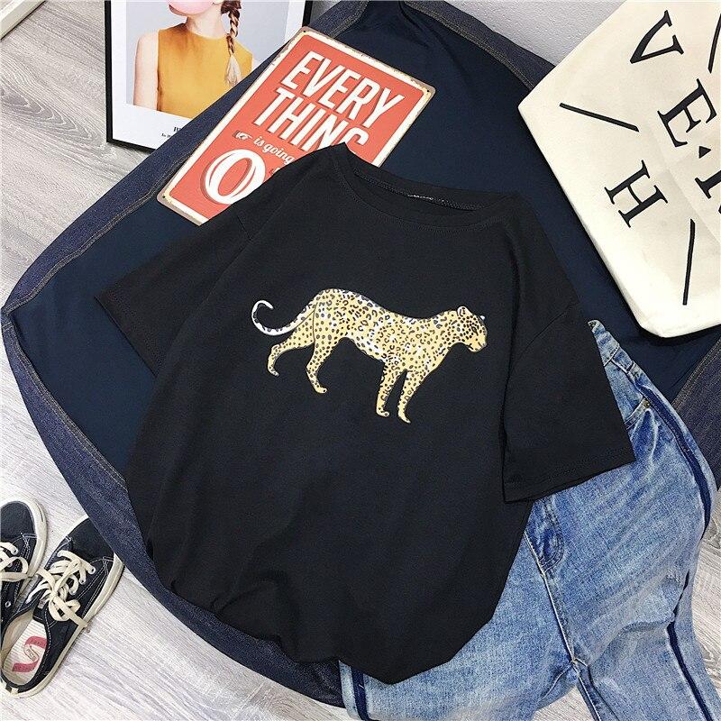 Aesthetic Leopard Women Shirt