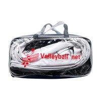 Indoor Tennis Canvas Edge Standard Sports Training Thicken Black Mesh PE Portable Volleyball Net Universal Outdoor