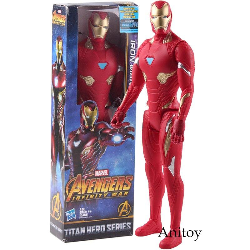 Marvel Avengers Infinity War Titan Hero Series Iron Man Action Figure PVC Collectible Model Toy