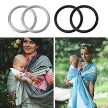 2Pcs 2inch Baby Carrier Aluminium Ring for Sling High Quality Carriers Accessories