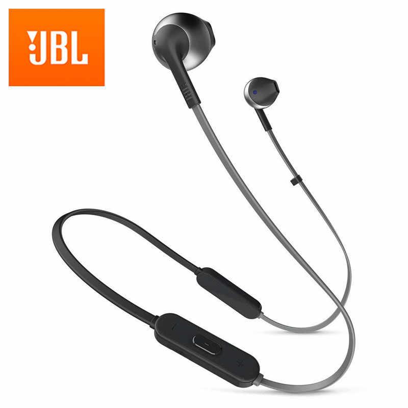 Jbl Lifestyle Tune 205bt Wireless Bluetooth Headphone Dynamic Neckband Headset Bluetooth 4 1 Sport Earbud With Mic Earphone Aliexpress