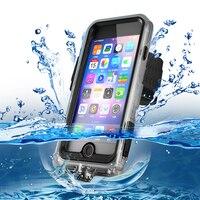 10M Diving Waterproof Case for iPhoneX 8 7 Plus Plastic Surfing Phone Case For iPhone6s 6 Underwater Swimming Sport Photograph