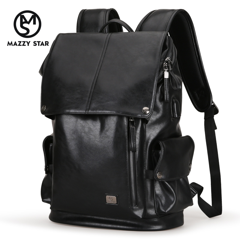 2019 Mazzy Star Brand Waterproof 15.6 Inch Laptop Backpack Men PU Backpacks for Teenager Men Casual Daypacks Mochila Male MS_5782019 Mazzy Star Brand Waterproof 15.6 Inch Laptop Backpack Men PU Backpacks for Teenager Men Casual Daypacks Mochila Male MS_578