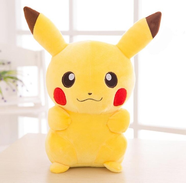 High Quality Anime 20cm Pikachu Plush Toys Collection Pikachu Plush Doll Toys For Kids Toys Christmas Gift