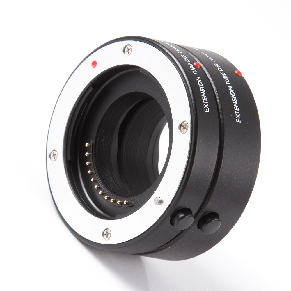 FOTGA Macro AF Auto Focus Tube Extension 10mm 16mm Anneau pour Panasonic Olympus Quatre Tiers M43 Micro 4/3 camera Lens