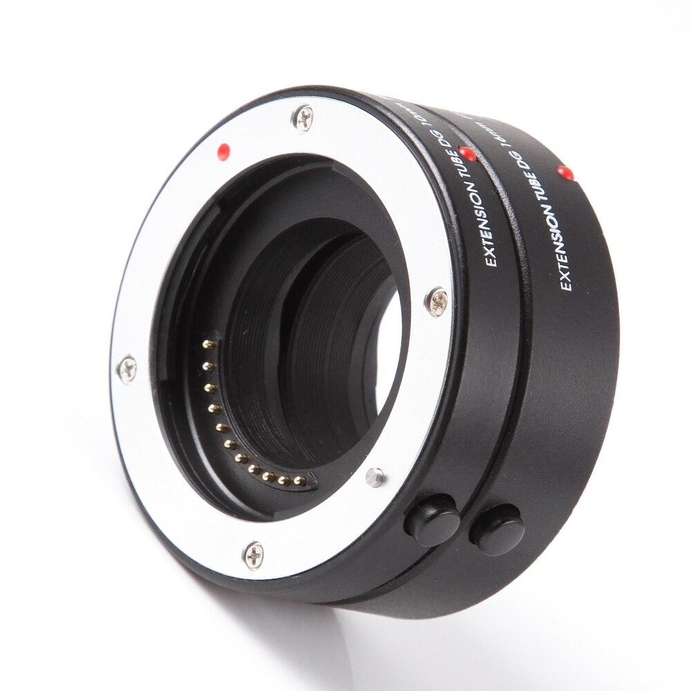 FOTGA Macro AF Auto Focus Tube Extension 10mm 16mm Anneau pour Four Thirds M43 Micro 4/3 Caméra Lentille