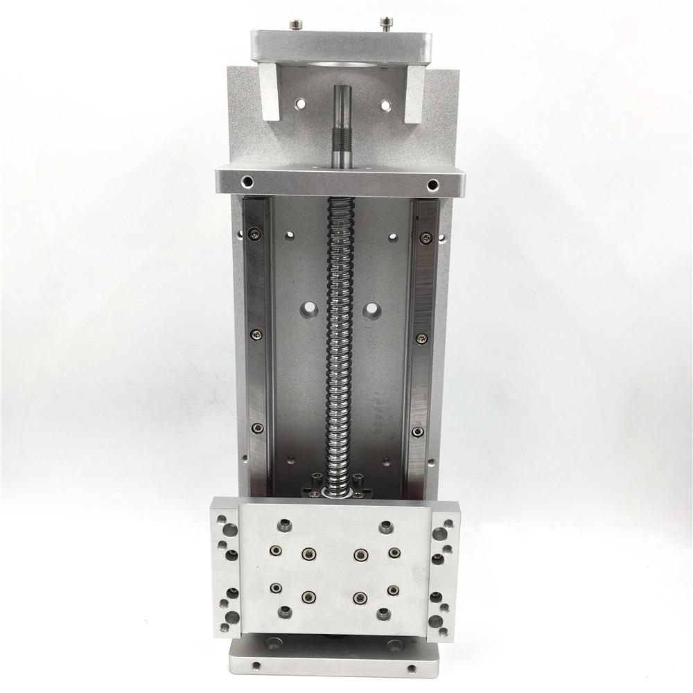 New Heavy Load Linear Stage Actuator Sliding Table Stroke L800mm SFU1605 Ballscrew Cross Slide Working Table TH20-57-800 sliding table stroke l400mm sfu1605 cross slide linear stage actuator cnc working table 250kg 50kg heavy load