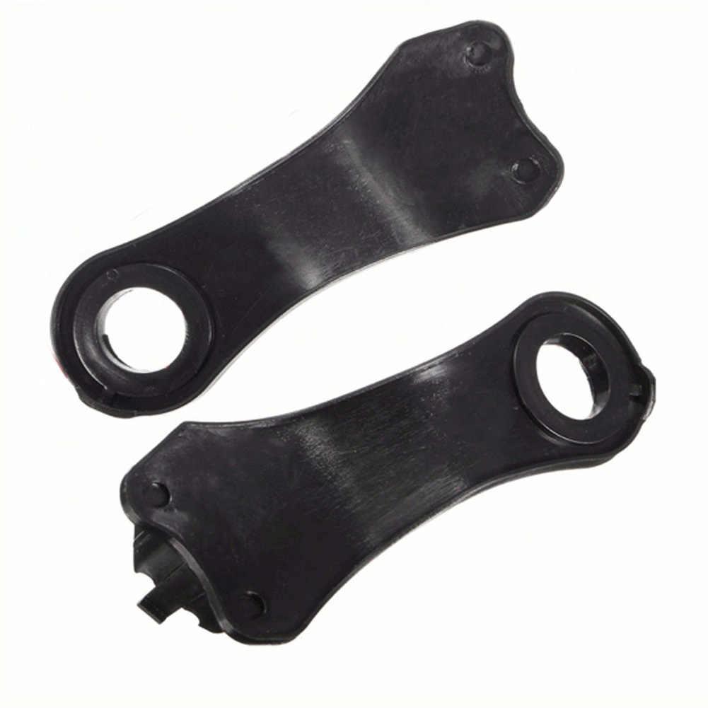 2 пары фар E60 галогеновые прочные высококачественные зажимы для фар пластиковые кронштейны для ремонта BMW E60 E61 #63126941478