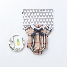 2017 New Spring Summer Baby Girl Blouses Kids Shirts Fantasy Children Casual Striped Clothing Child Clothes Wear Freeshipping