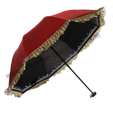 3pcs lot colour option ladies 39 wine red upf 50 folding. Black Bedroom Furniture Sets. Home Design Ideas