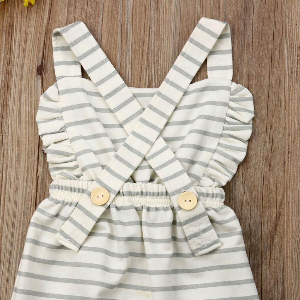 HTB1yc1NQpzqK1RjSZFoq6zfcXXaN Newborn Baby Girl Boy Backless Striped Ruffle Romper Overalls Jumpsuit Clothes Onesies kid clothing toddler clothes baby costume