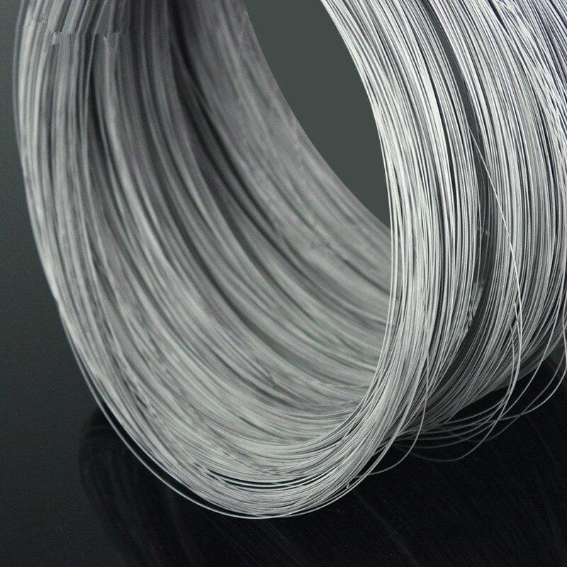 Проволока из титанового сплава YT1349 диаметром 1 метр, 0,5 мм, титановая проволока TA2, бесплатная доставка, продается при потере титанового кабе...