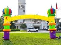 6 м (20 футов) надувные Арки арки для детей День рождения с воздуха Воздуходувы