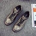 2017 Весна Осень Оптовые Мужчины Обувь Зашнуровать Удобные Ботинки С Мягкой Легкая Подошва Hombre Тренеров
