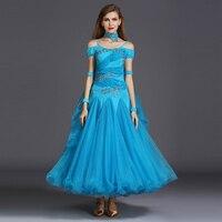 new waltz dress ballroom dance competition dresses standard dance dresses women