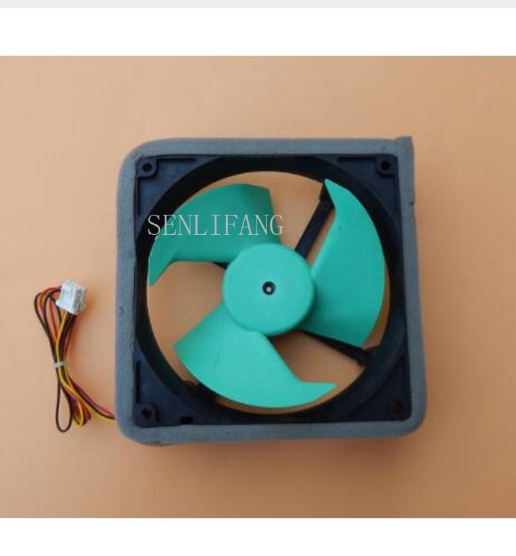 Free Shipping NMB FBA12J12M 12V 0.23A 3wire Refrigerator Cooling Fan