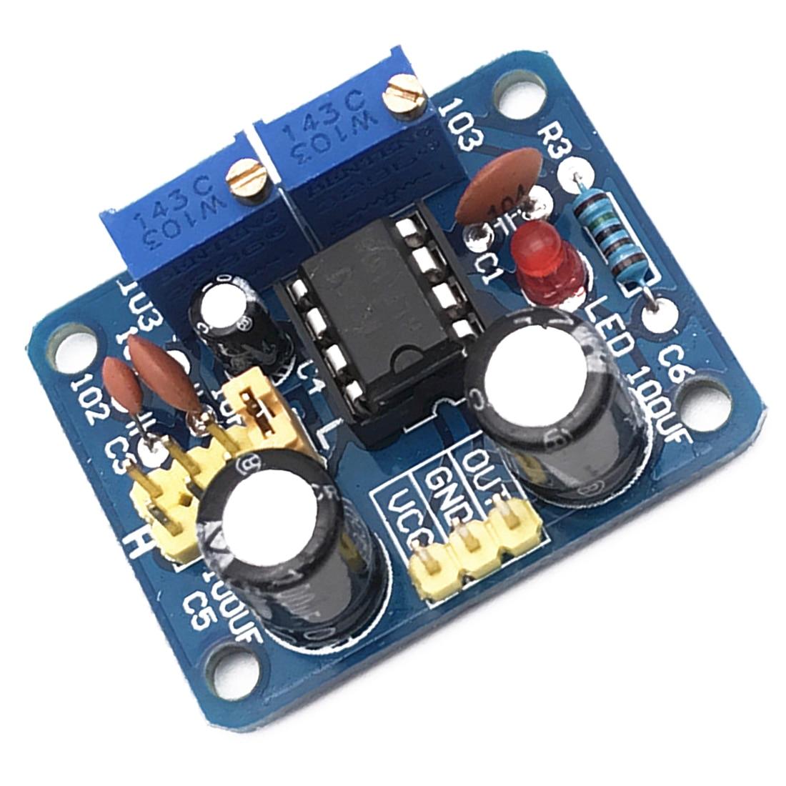 1 Stück Einstellbare Module Kit Oszillator Platz Welle Signal Generator Ne555 Puls Generator Puls Starter Duty Zyklus Und Frequenz Schnelle Farbe