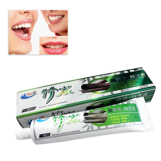 Whitening Bamboo Salt Toothpaste Charcoal Toothpaste Oral Hygiene