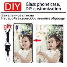 DIY Photo Customize Phone Case for Huawei Nova 3 3i amigo 20 Lite Tempered Glass Cover huawei Honor 8X 8c Nota 10 Note10