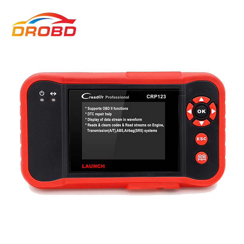 2017 Newest LAUNCH Creader CRP123 Code Scanner Creader Support for Multi Brand Car Diagnostic Tool CRP